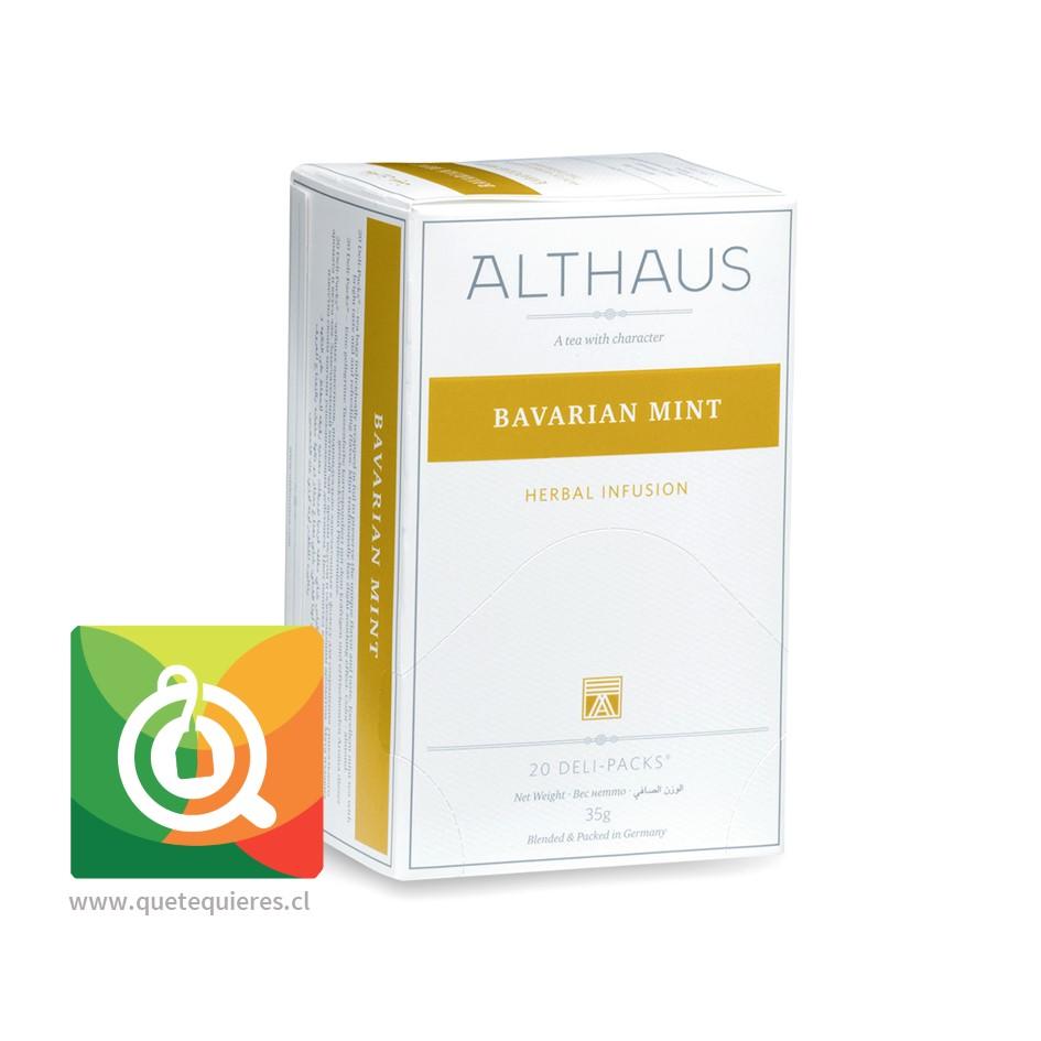 Althaus Infusión Menta Bávara 20 bolsitas - Image 1