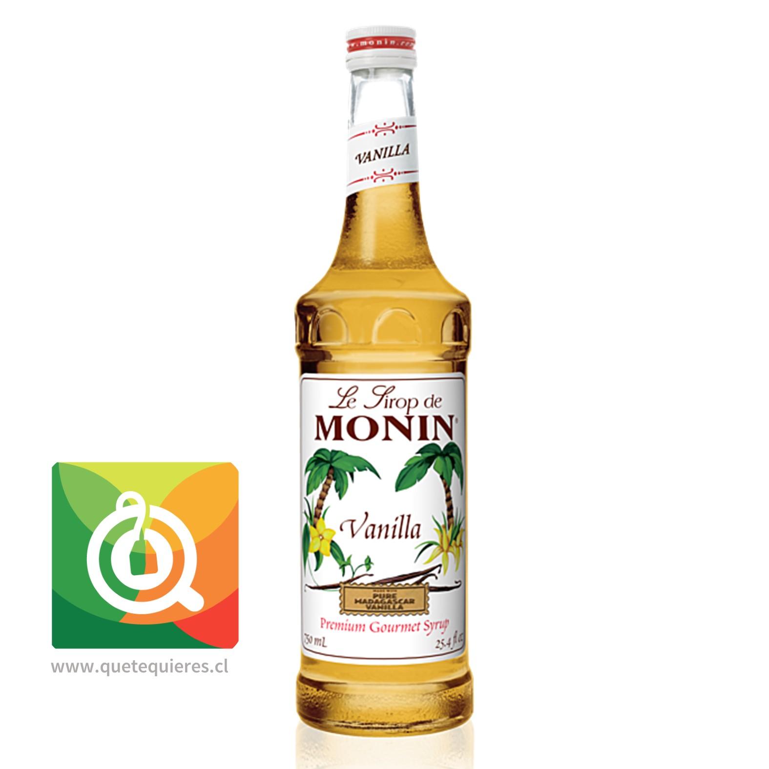 Monin Syrup Vainilla- Image 1