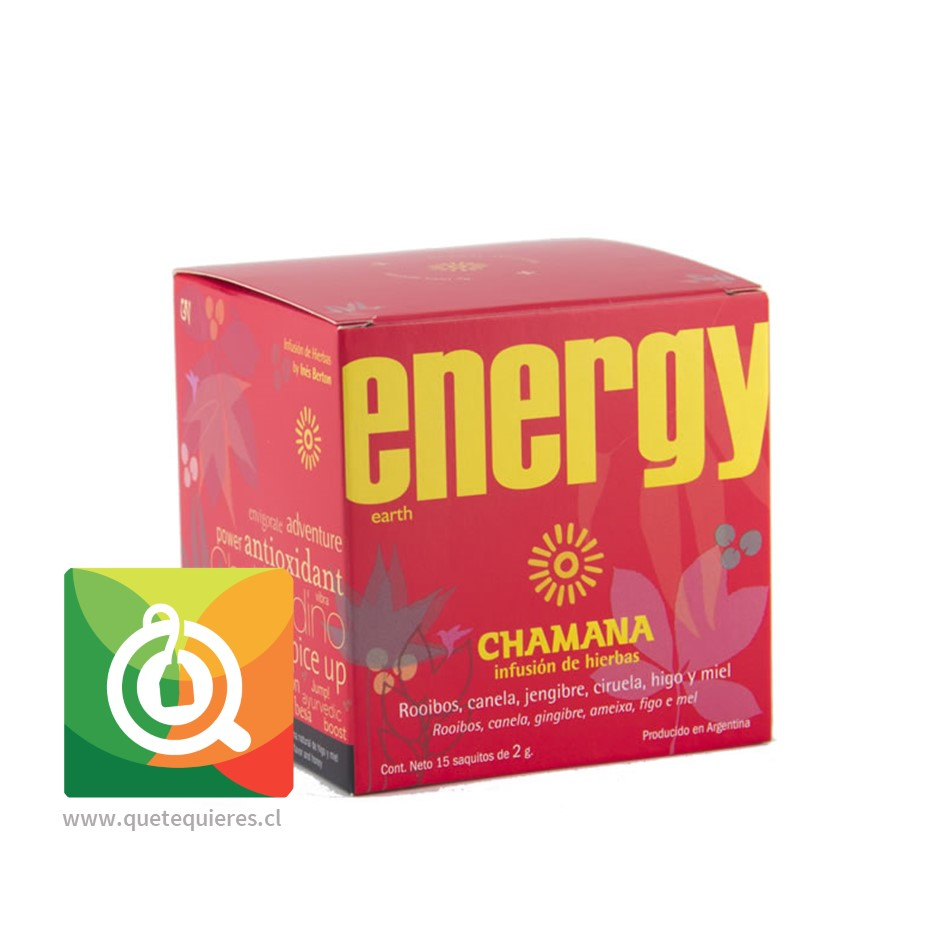 Chamana Infusión Roja Energy