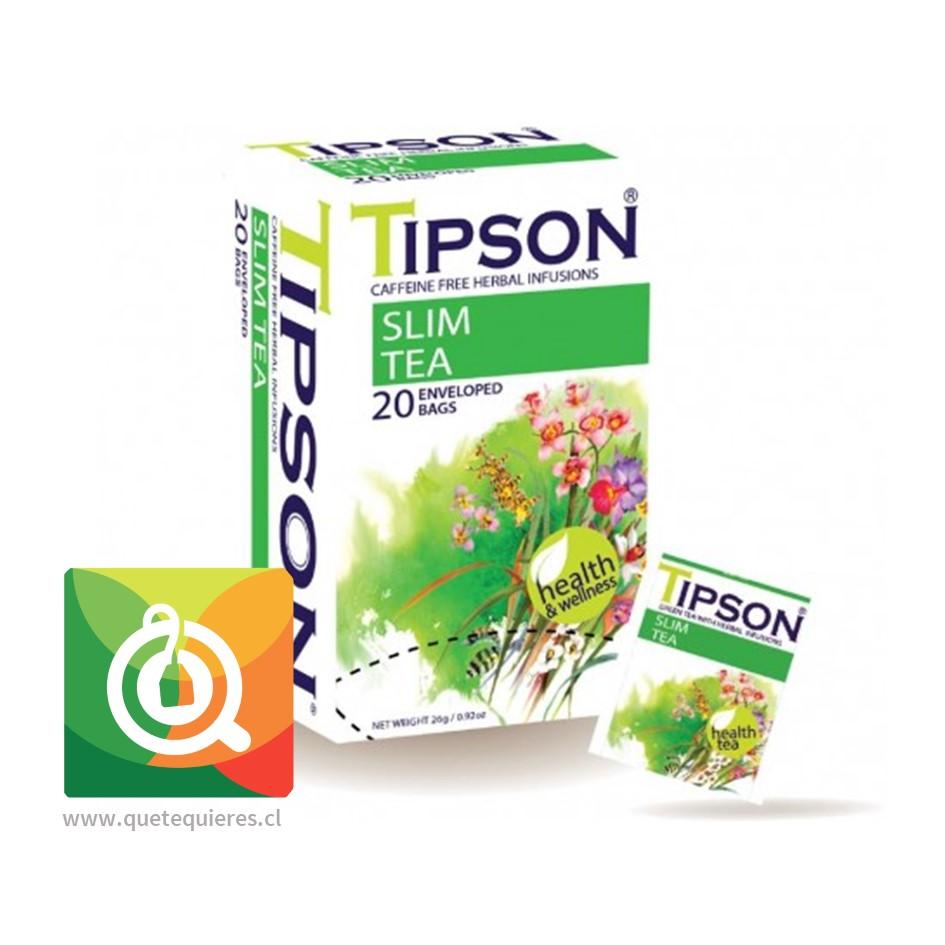 Tipson Té Verde Slim Tea - Té Verde y Hierbas