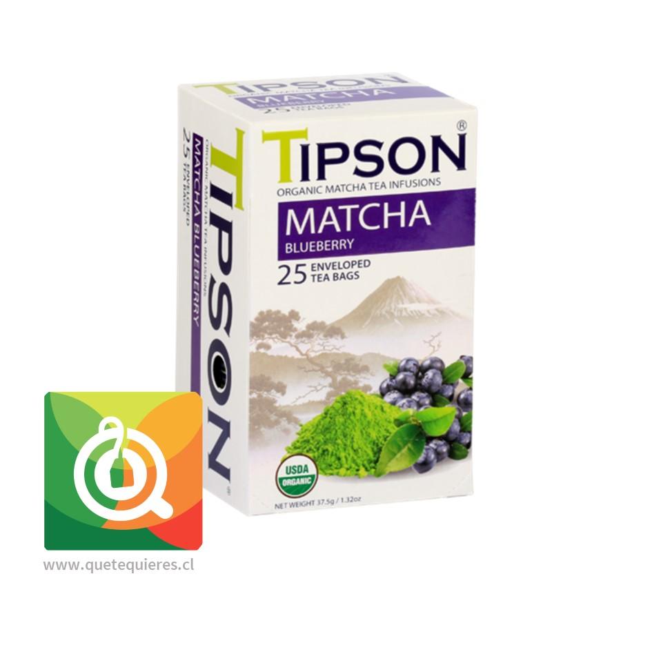Tipson Té Matcha Orgánico Blueberry