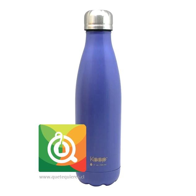 Keep Botella Térmica Colores - 500 ml. Morada -Azúl