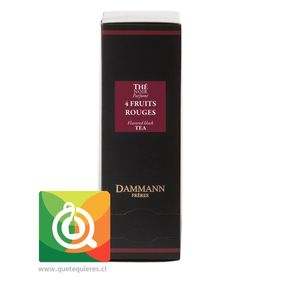 Dammann Té Negro 4 Frutos Rojos - 4 Fruits Rouges 24 Sachets - Image 1