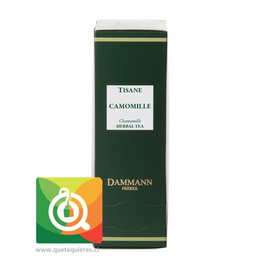 Dammann Infusión Manzanilla - Tisane Chamomille 24 Sachets - Image 1