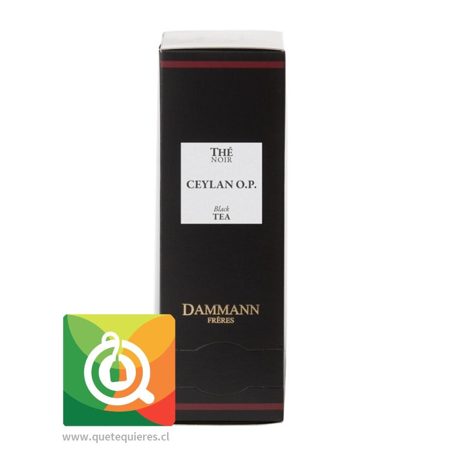 Dammann Té Negro Ceylan Orange Pekoe 24 Sachets - Image 1