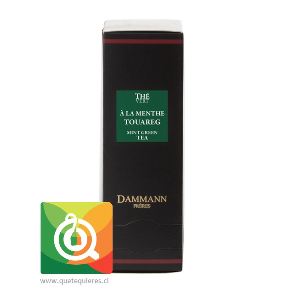 Dammann Té Verde Menta - Thé Vert À La Menthe 24 Sachets - Image 1
