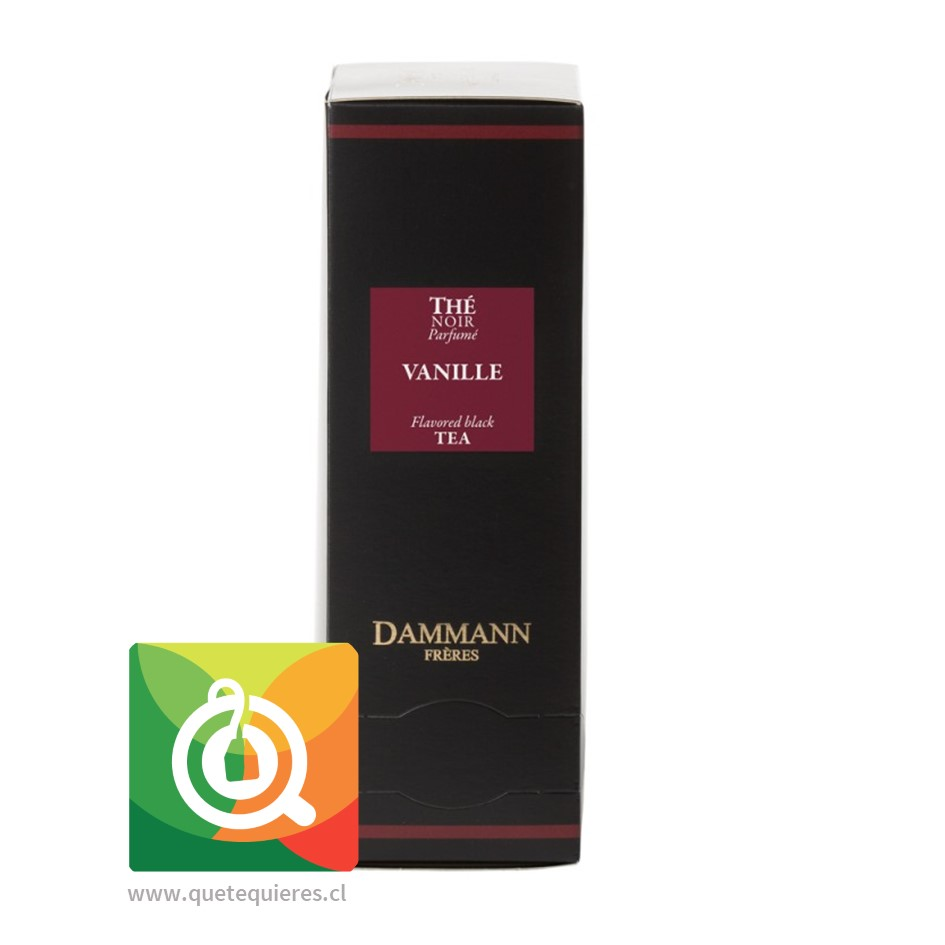 Dammann Té Negro Vainilla - Vanille 24 Sachets - Image 1