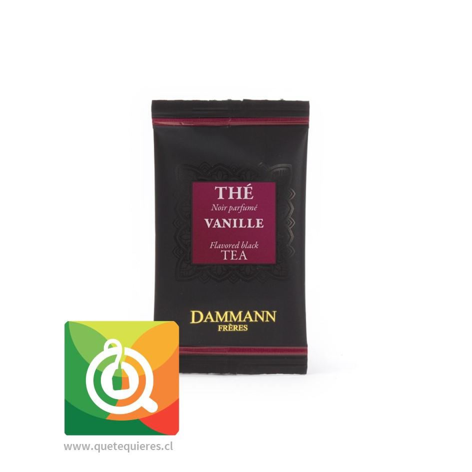 Dammann Té Negro Vainilla - Vanille 24 Sachets - Image 2