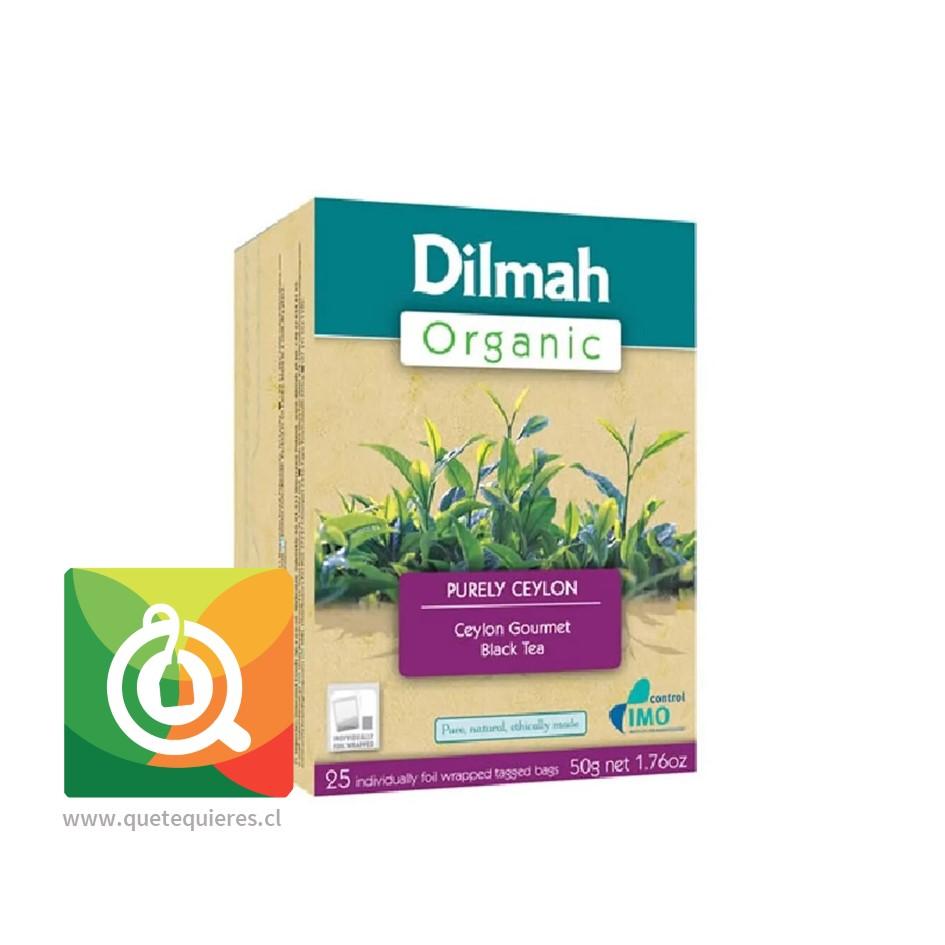 Dilmah Té Negro Orgánico 25 bolsitas