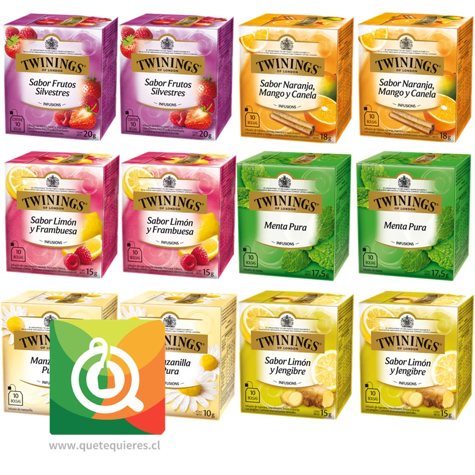 Twinings Surtido Infusiones Pack 12