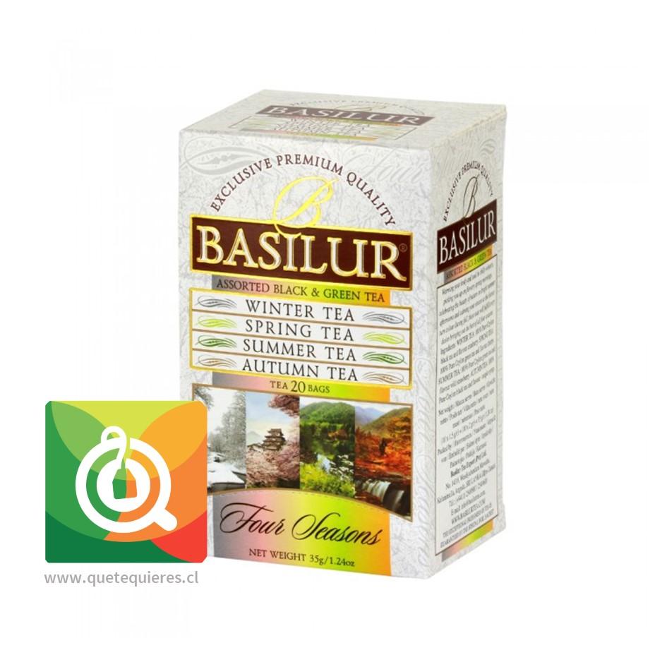 Basiliur 4 Estaciones - Four Seasons Assorted 20 bolsitas