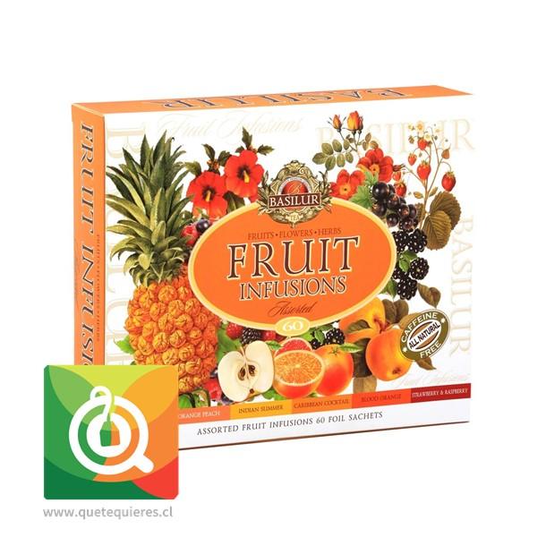 Basilur Infusiones de Frutas 60 bolsitas- Image 1