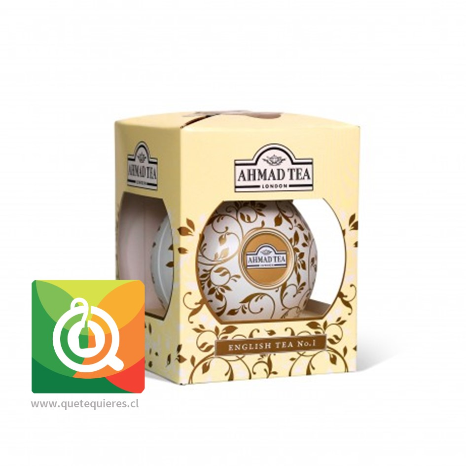 Bola Navidad - Tea Bauble Marfil (Engish N°| hoja 30 gr)- Image 1