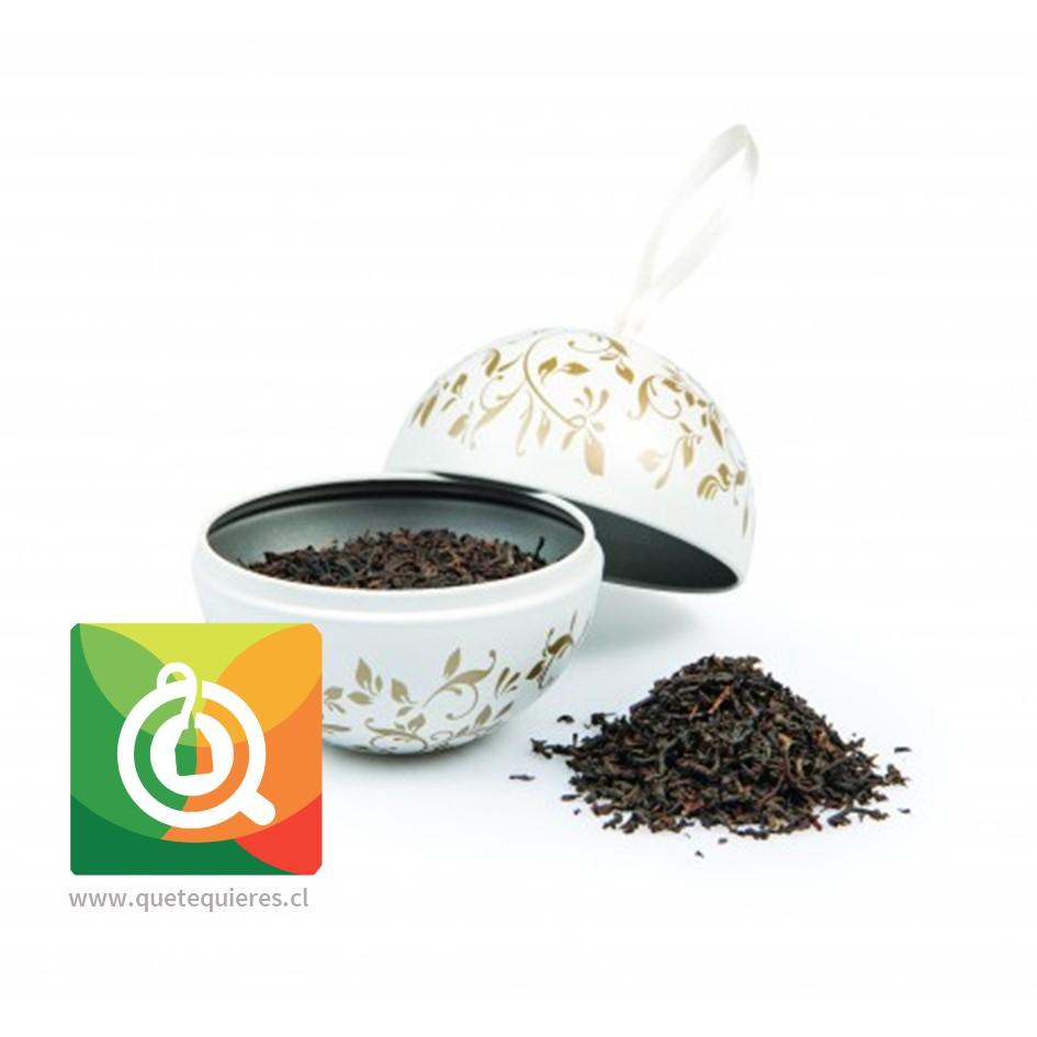 Bola Navidad - Tea Bauble Marfil (Engish N°| hoja 30 gr)- Image 2