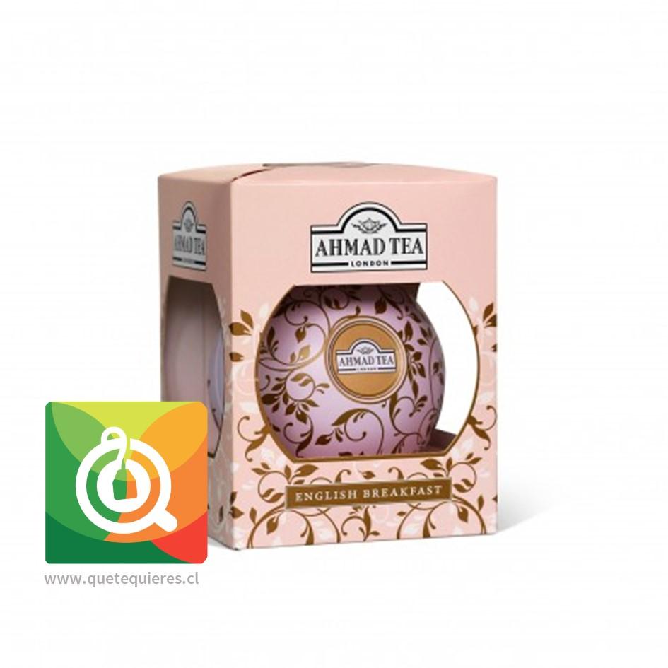 Bola Navidad - Tea Bauble Rosada (English Breakfast hoja 30 gr)- Image 1