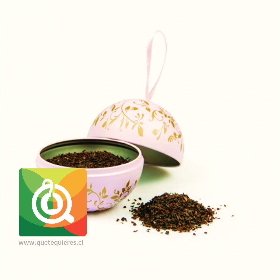 Bola Navidad - Tea Bauble Rosada (English Breakfast hoja 30 gr)- Image 2