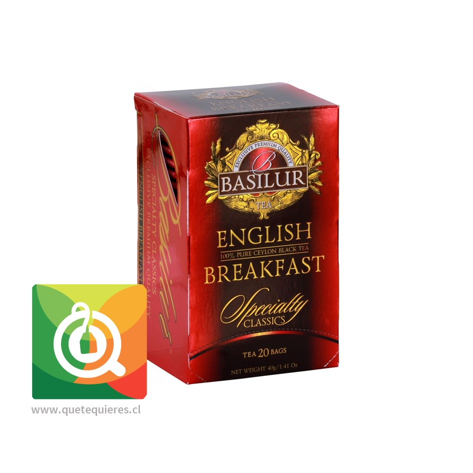 Basilur Té Negro English Breakfast
