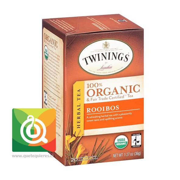Twinings Infusión Rooibos Orgánico  - Image 1