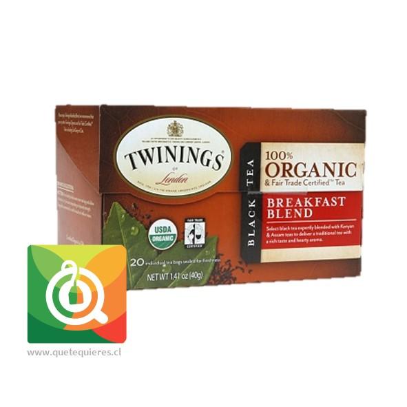 Twinings Té negro Breakfast Blend Orgánico- Image 2