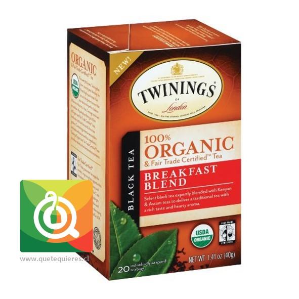 Twinings Té negro Breakfast Blend Orgánico- Image 1