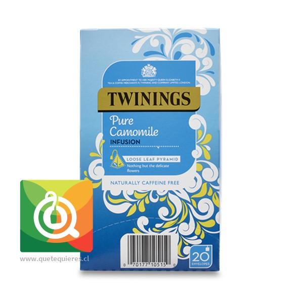 Twinings Infusión Manzanilla 20 pirámides  - Image 1