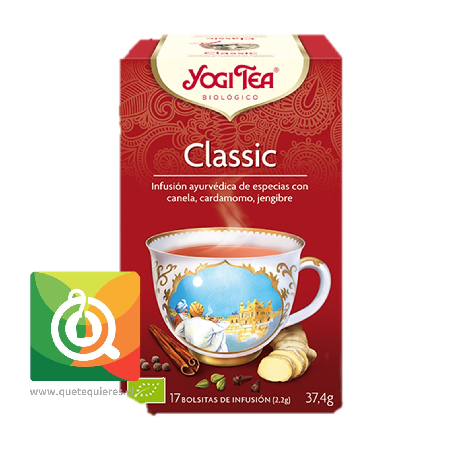 Yogi Tea Infusión de Hierbas Classic Orgánica