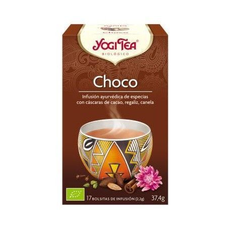 Yogi Tea Infusión Orgánica Chai Chocolate