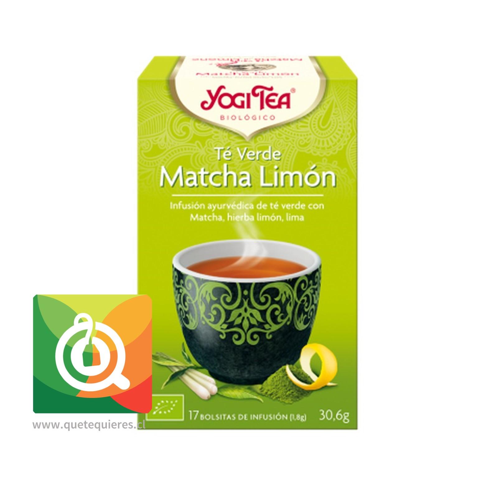 Yogi Tea Té Verde Orgánico Limón