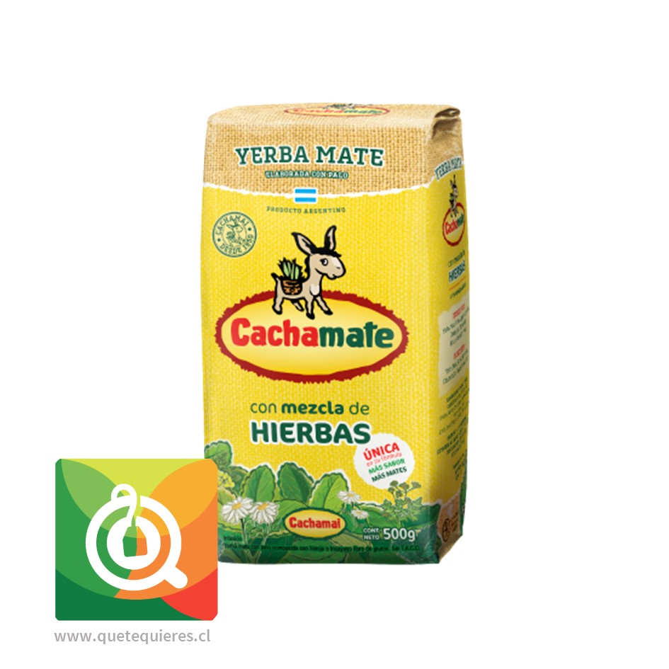 Cachamate Yerba Mate Amarilla