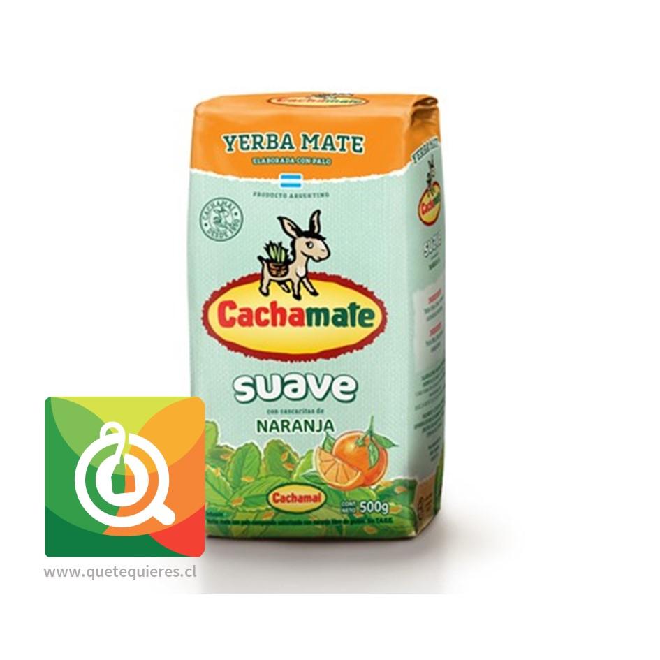 Cachamate Yerba Mate Suave Naranja