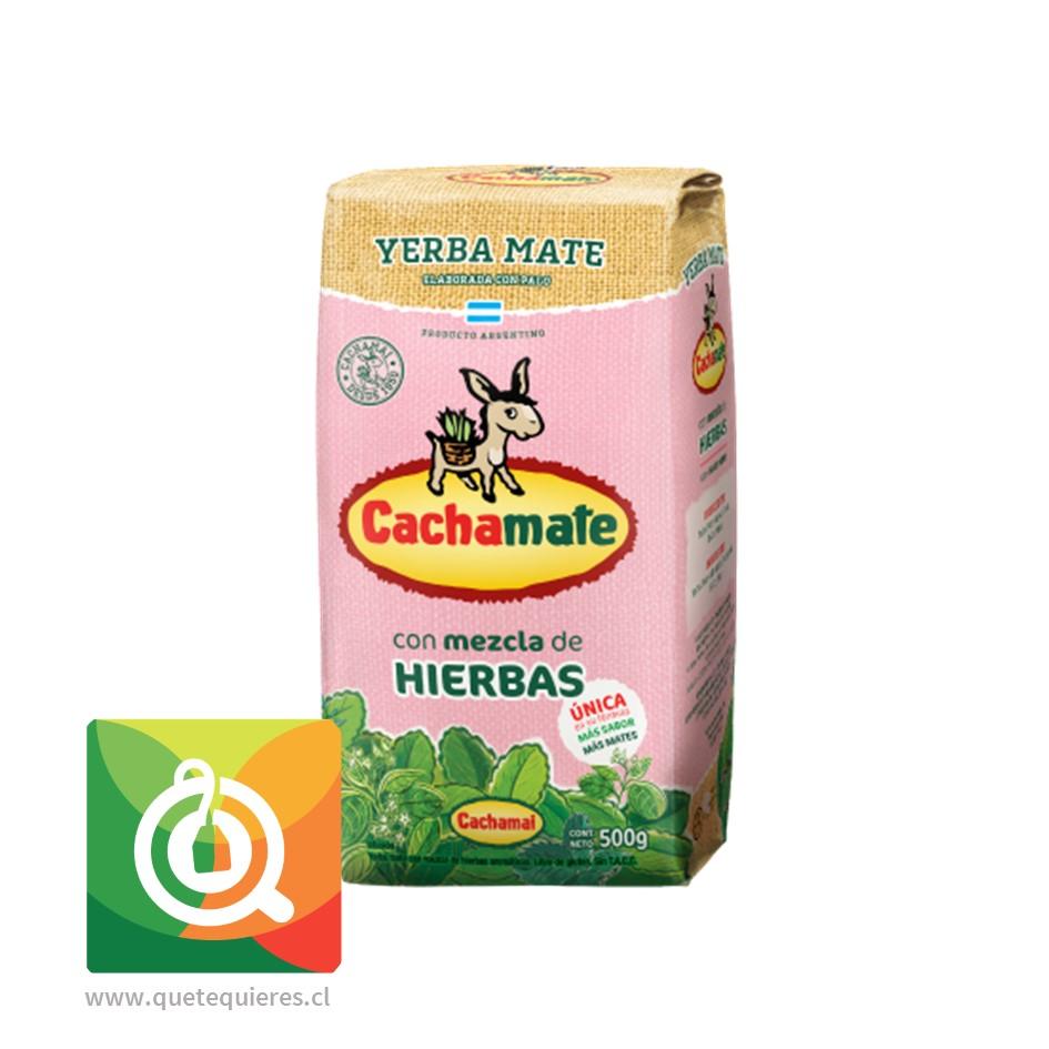 Cachamate Yerba Mate Rosa
