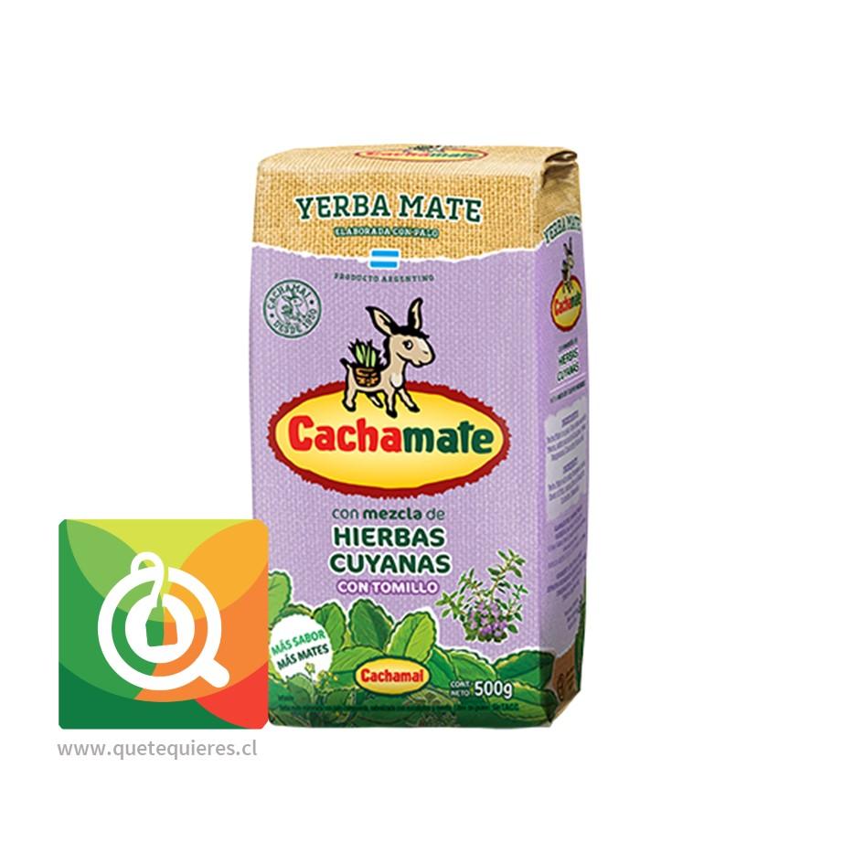 Cachamate Yerba Mate Hierbas Cuyanas 500 gr