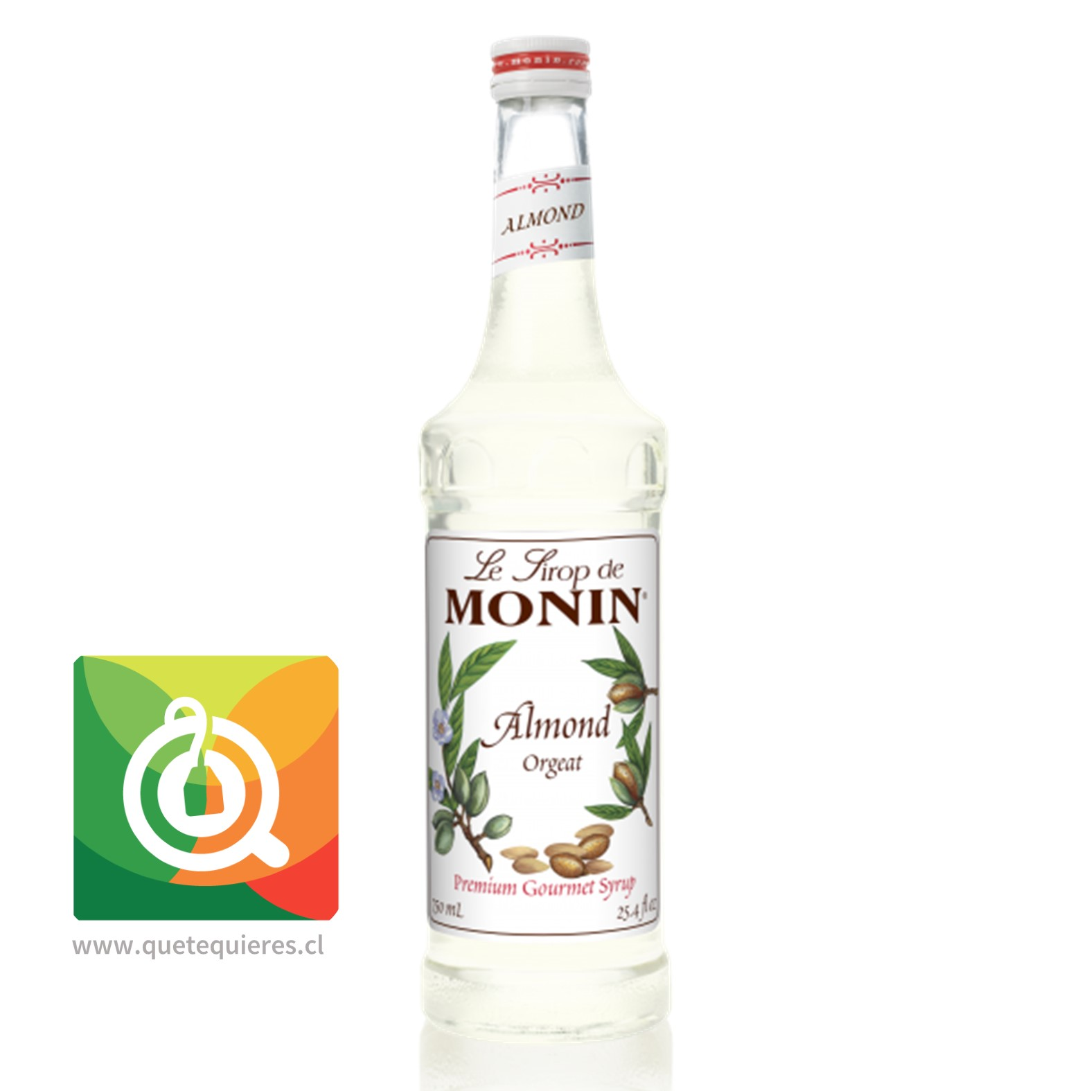 Monin Syrup Almendra- Image 1