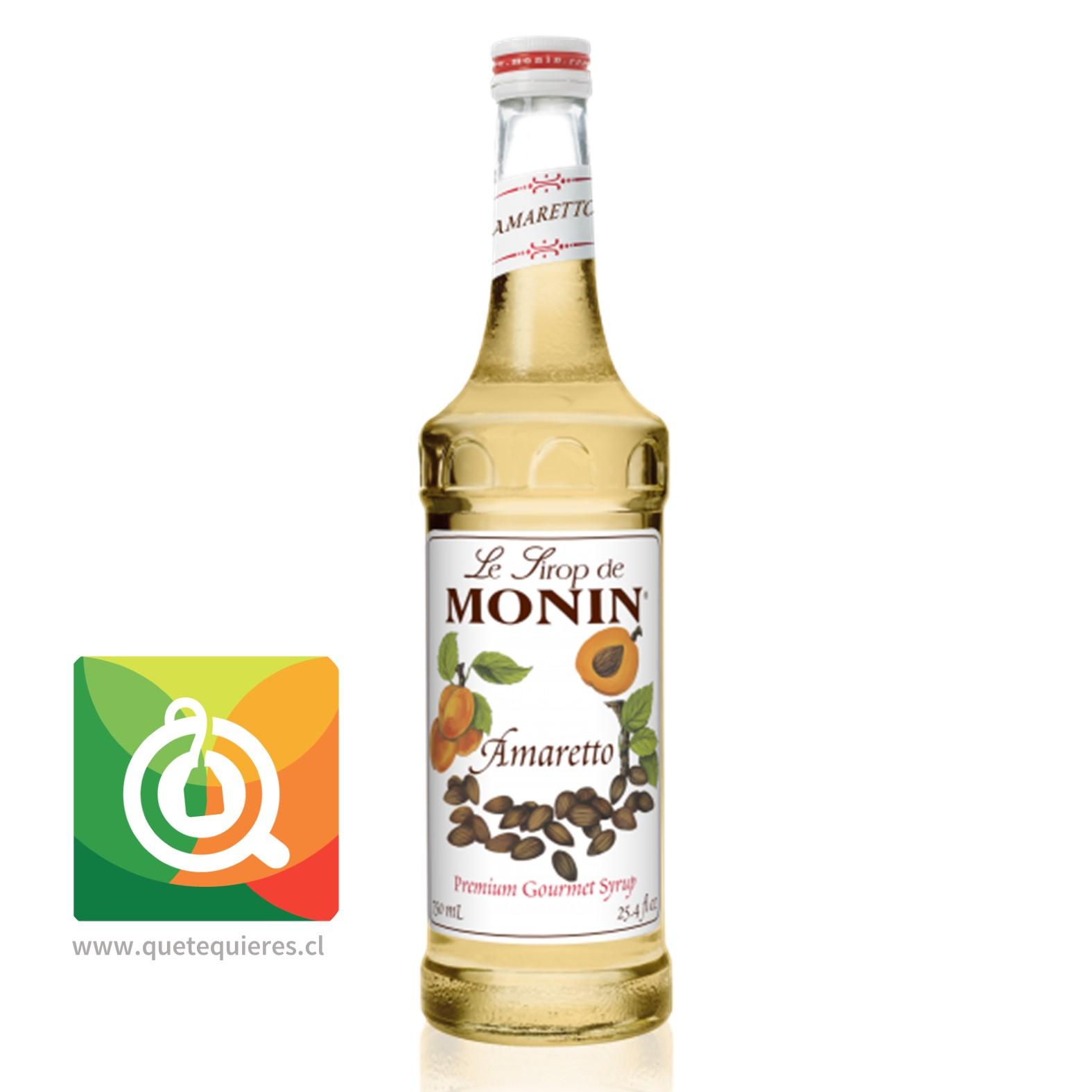 Monin Syrup Amareto- Image 1