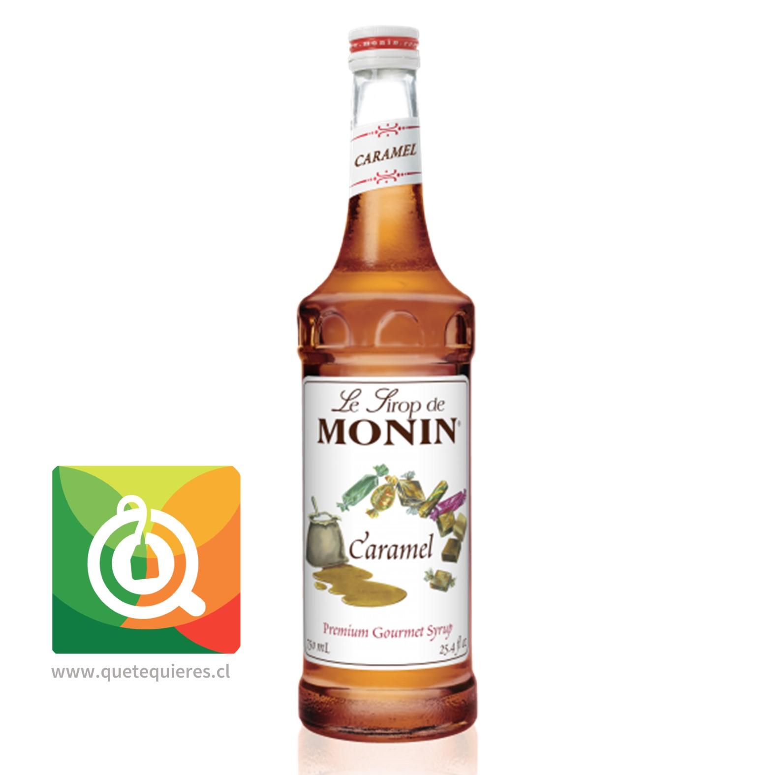 Monin Syrup Caramelo- Image 1