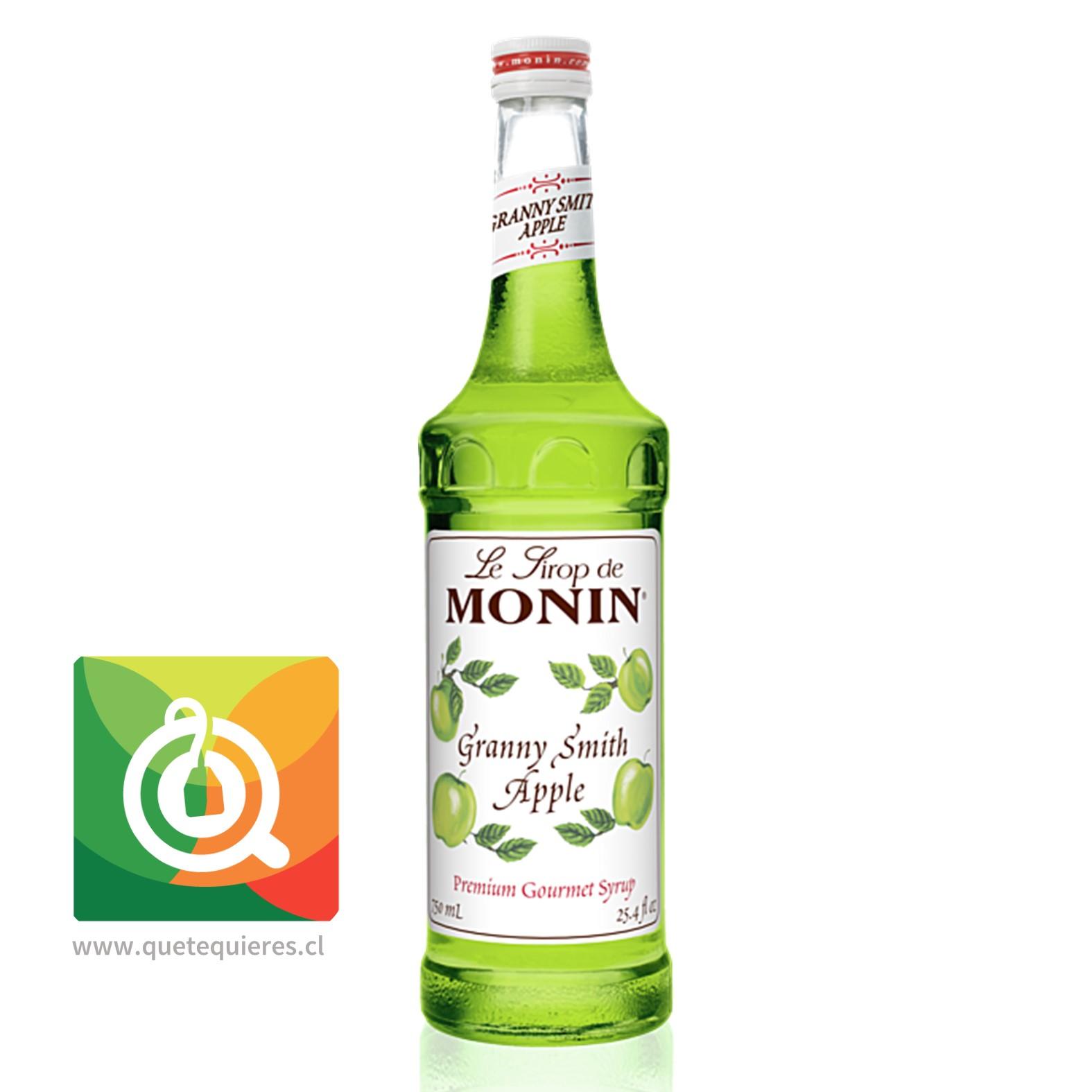 Monin Syrup Manzana Verde- Image 1