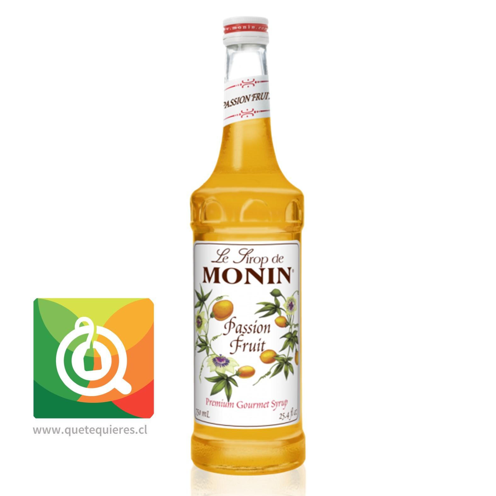 Monin Syrup Passion Fruit- Image 1