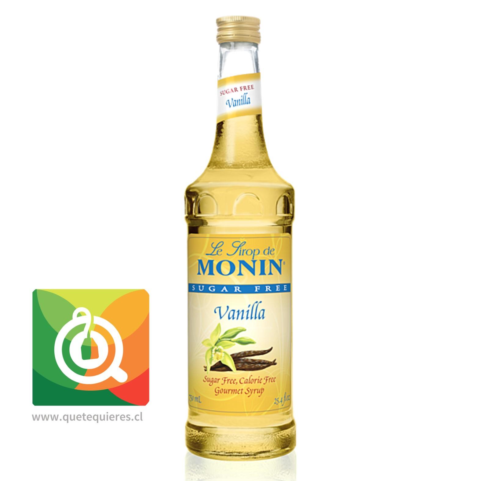 Monin Syrup Vainilla Sin Azucar- Image 1