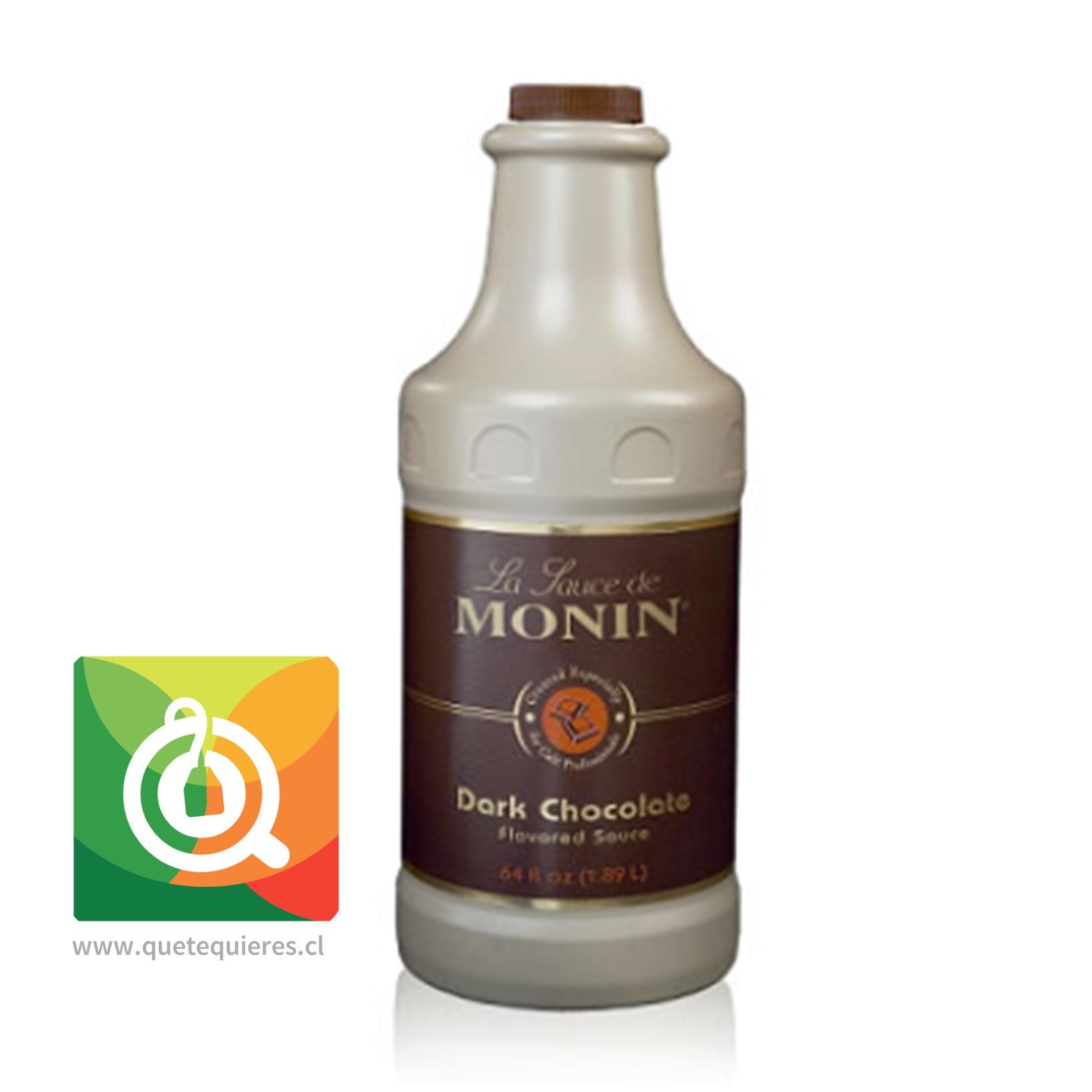 Monin Salsa De Chocolate Amargo- Image 1