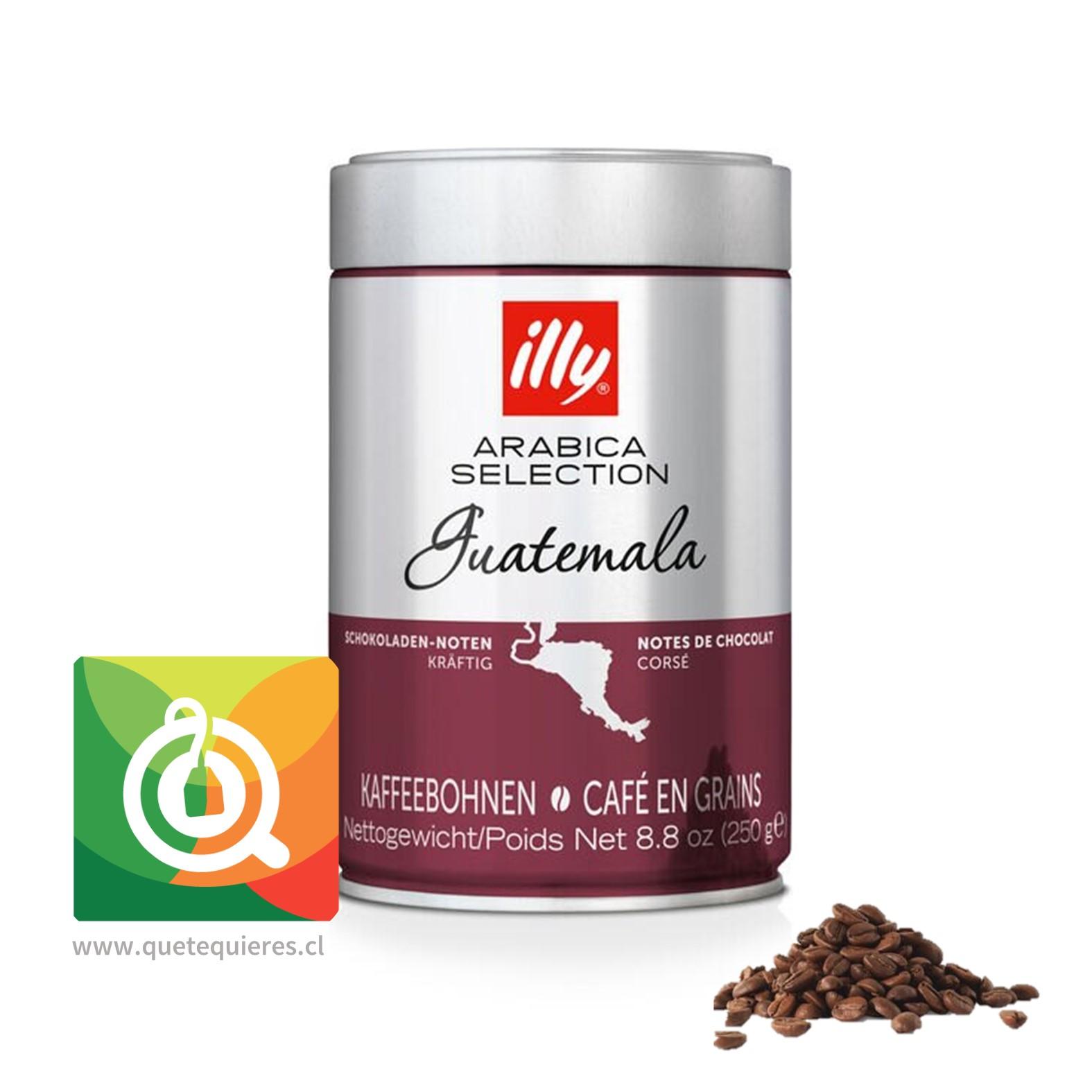 Illy Café Monoarabico Grano Guatemala Lata