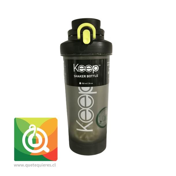 Keep Botella Shaker 700 ml Negra