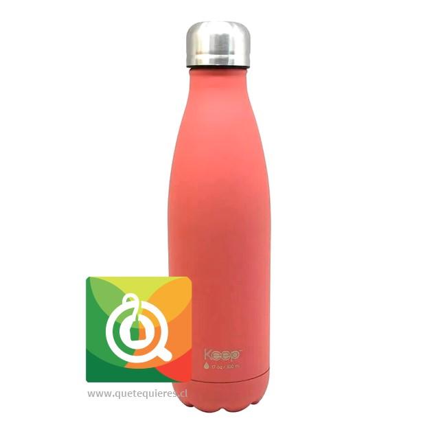 Keep Botella Térmica Colores - 500 ml. Rosada