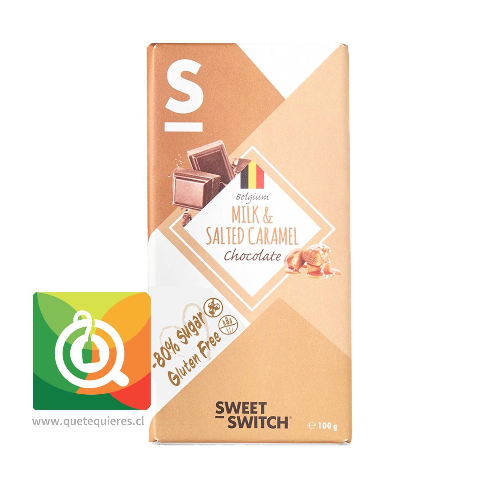 Sweet-Switch Chocolate Belga Caramelo Salado