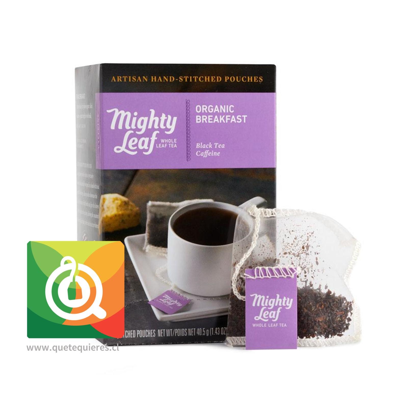 Mighty Leaf Té Negro Breakfast Orgánico- Image 1