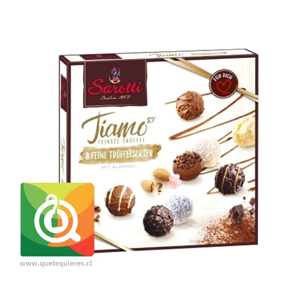Sarotti Chocolate Trufa Tiamo 200 gr - Image 1