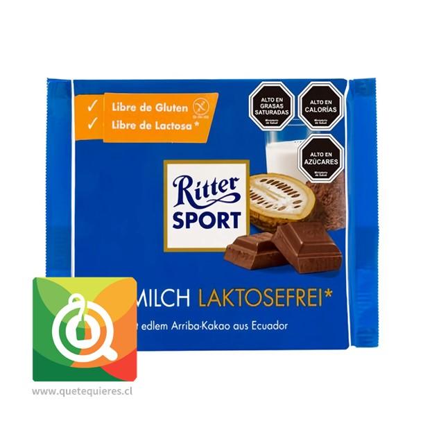 Ritter Sport Chocolate de Leche Sin Lactosa