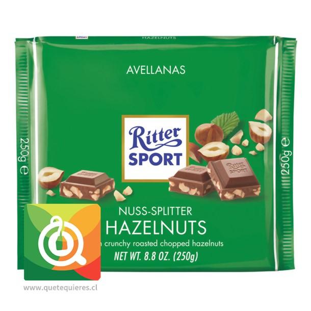 Ritter Sport Chocolate Hazelnuts 250 gr - Avellanas