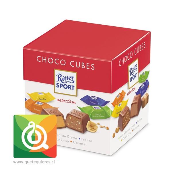 Ritter Sport Choco Cubes Variedades-  22 Chocolates en Cuadritos
