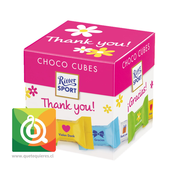 Ritter Sport Choco Cubes Gracias-  22 Chocolates en Cuadritos