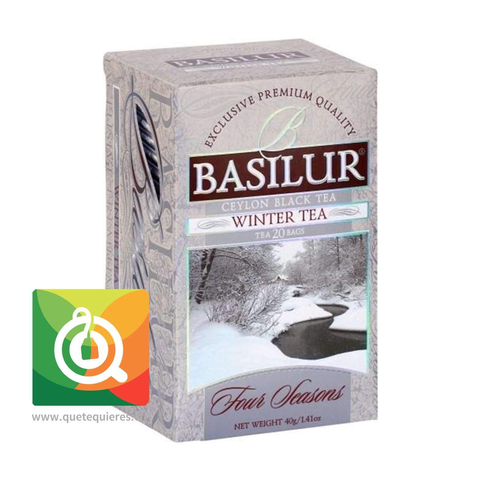 Basilur Té Negro Cranberry - Winter Tea